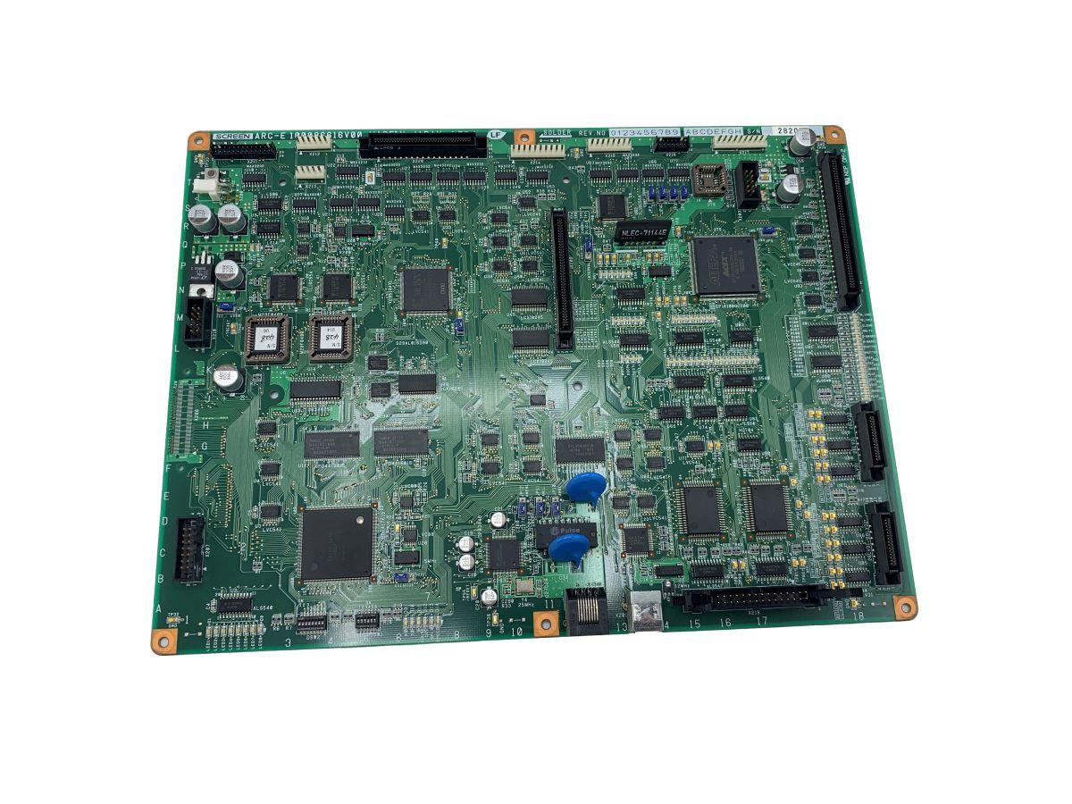 screen platerite printed circuit boardwparts arce s100086616v00
